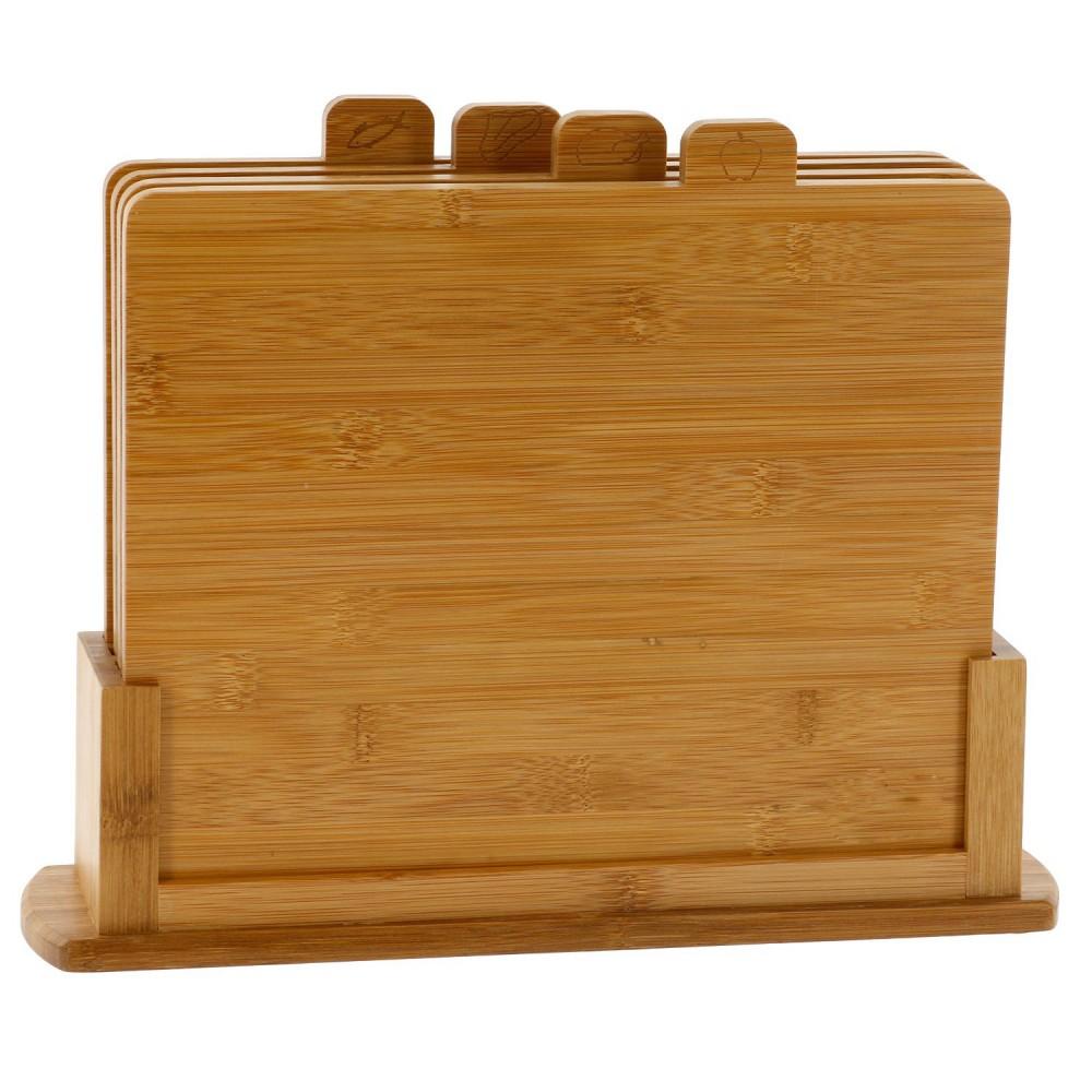 Комплект бамбукови дъски за рязане